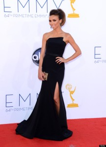 LOS ANGELES, CA - SEPTEMBER 23:  TV personality Giuliana Rancic arrives at the 64th Primetime Emmy Awards at Nokia Theatre L.A. Live on September 23, 2012 in Los Angeles, California.  (Photo by Jason Merritt/WireImage)