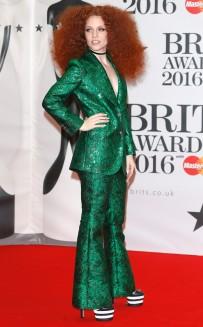 BRIT AWARDS 2016: RED CARPET ARRIVALS JESS GLYNNE