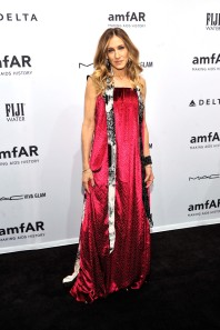NEW YORK, NY - FEBRUARY 06: Actress Sarah Jessica Parker attends the amfAR New York Gala to kick off Fall 2013 Fashion Week at Cipriani Wall Street on February 6, 2013 in New York City. (Photo by Stephen Lovekin/Getty Images for Mercedes-Benz Fashion Week)