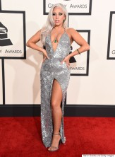 LOS ANGELES, CA - FEBRUARY 08: Lady Gaga arrives at the The 57th Annual GRAMMY Awards on February 8, 2015 in Los Angeles, California. (Photo by Steve Granitz/WireImage)