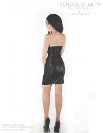 Model: Gladys Flores / Designer MR.HREYES (Héctor Reyes Tapia)