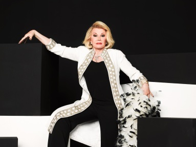 """Yesterday is history, tomorrow is a mystery, today is God's gift, that's why we call it the present."" JOAN RIVERS, COMEDIAN"
