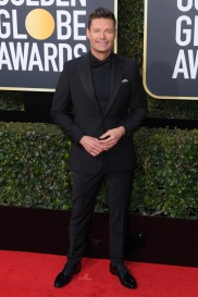 Mandatory Credit: Photo by David Fisher/REX/Shutterstock (9307691bc) Ryan Seacrest 75th Annual Golden Globe Awards, Arrivals, Los Angeles, USA - 07 Jan 2018