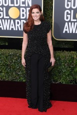 Mandatory Credit: Photo by David Fisher/REX/Shutterstock (9307691be) Debra Messing 75th Annual Golden Globe Awards, Arrivals, Los Angeles, USA - 07 Jan 2018